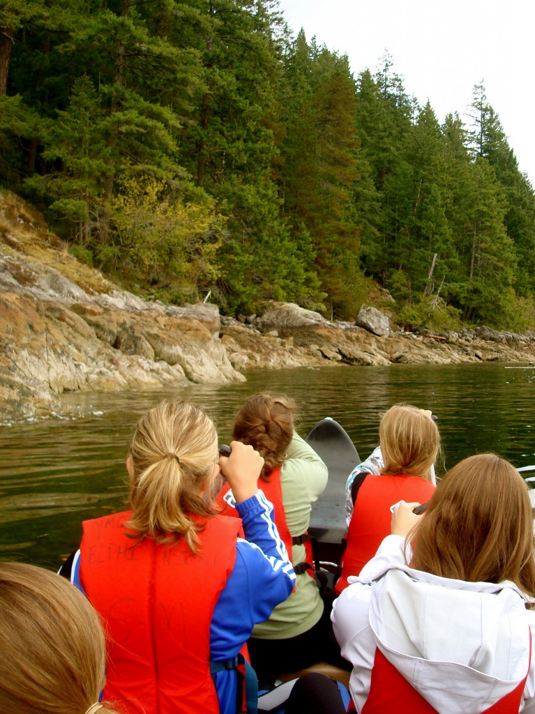 Howe Sound by Voyager Canoe